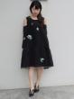 Zayan The Label Joney Dress(小花柄オフショルL/Sドレス)