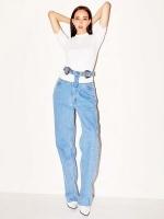 PONY STONE HighWaistJeans With belt (ベルト付きデニムパンツ)