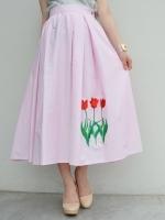 VIVETTA IVONE(チューリップ刺繍スカート)