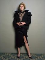 mame  Silky Wool ペプラムスカート