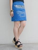 THEATRE PRODUCTS ストレッチポンチ ロゴスカート