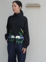 AKIRANAKA Johanna (フラワー刺繍L/Sトップス)