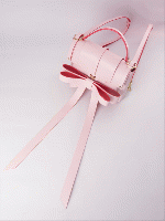 Niels Peeraer RIBBON BACKPACK (M) PINK