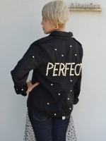 "Tu es mon TRESOR M65field jacket ""PERFECT"""