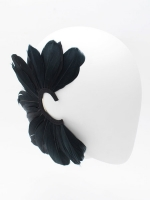 FRANCESCO BALLESTRAZZI FEATHERS EAR CU FF