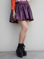 fleamadonna METALIC FLARED SKIRT